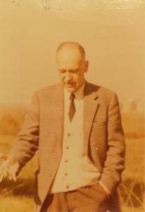 Wacław Zawiliński mąż Marii ze Skarbińskich Zawilińskiej Rzym XII 1974