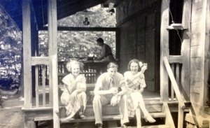 Brzuchowice letnisko lata 30-te