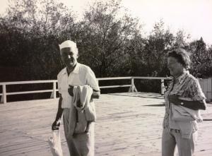 Maria ze Skarbińskich i Wacław Zawilińscy, Grodno IX1973