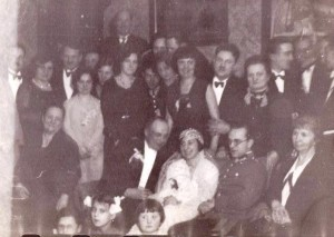 Janina i Wacław Szostakowscy, ślub 1931r