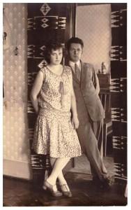 Lubkowie Szankowscy 02.09.1929, w Tłumaczu, znajomi Jadwigi Legeżyńskiej