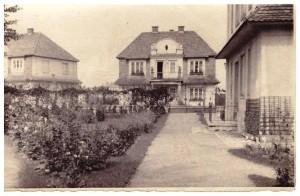 Lwów, ul. Własna Strzecha 2, właściciele Bielscy, na piętrze mieszkali Maria i Edmund Hilczerowie