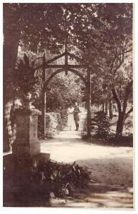 Lwów, willa Helanka, Edward Stromenger z żoną