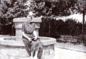 Maria z Legeżyńskich Skarbińska 1946 r