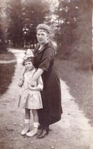 Sylwia Czołowska z córką Stasią