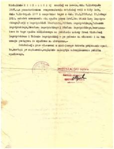 Sąd Grodzki Miejski we Lwowie uchwała 1938 r podział spadku 3