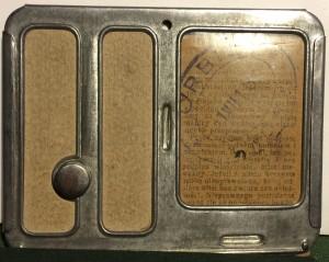 bilet miesięczny PKP 1938 r Lwów - Brzuchowice rewers Michal Michalski