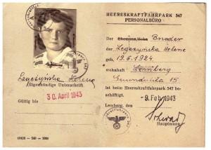 legitymacja rosyjska 1941 Czerwonego Krzyża i Półksiężyca